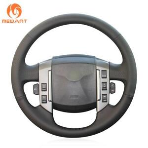 Soft Black Leather Car Steering Wheel Cover for Land Rover Old Range Rover Sport
