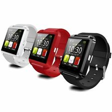 Bluetooth Smartphone Wrist Watch Pedometer For IOS Android iPhone HTC LG Samsung