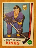 1969-70 O-Pee-Chee OPC RC Jimmy Peters #143 Los Angeles Kings LA Rookie Card