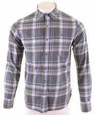 TOMMY HILFIGER Mens Shirt Medium Multi Check Cotton  LE10
