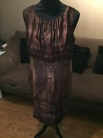 Marks And Spencer Autograph Silk Dress 14 BNWT!