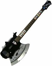 """NEW IOB Gene Simmons Rock Band KISS """"AXE"""" Guitar Hero for PS3/PS2/Wii/Wii-U"""