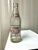 Vintage Soda Pop Beverage Bottle -  Casco Beverages, Portland, Maine