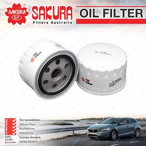 Sakura Oil Filter for Alfa Romeo 156 JTS 2.0L 4Cyl Petrol 10/2004-2006