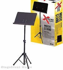 MUSIC STAND HEAVY DUTY PRO MUSIC STAND. SOLID PLATE STEEL DESK