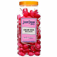 Joseph Dobson Mega lollipops lollies Hard Candy Sweets Cream Soda Flavor Jar