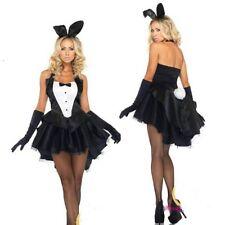 Women Costume Bunny Girl Fancy Dress Coat Tails Halloween Christmas Girl YXT1109