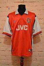 VINTAGE ARSENAL LONDON HOME FOOTBALL SHIRT 1998/1999 SOCCER JERSEY TRIKOT NIKE