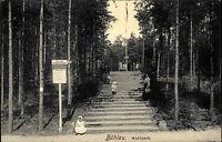 BÜHLAU b. Dresden Sachsen um 1910 Kinder Spielplatz Waldpark alte Postkarte