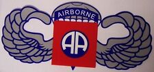 Window Bumper Sticker Military Army 82nd Airborne Division All America NEW Decal