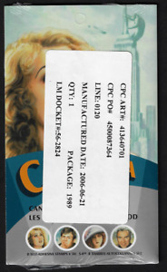 Canada — Set of 4 Booklets of 8 — Canadians In Hollywood #2154 (BK326—BK329)