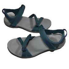Teva 1006263 Women's Verra Sandal Open Toe Strappy Hiking Size 9 Green