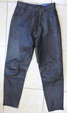 KENZO Pantalon cuir Chocolat Femme Taille 40 Fr