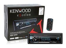 Kenwood Excelon KDC-X997 CD Player Receiver Built in HD Bluetooth New KDCX997