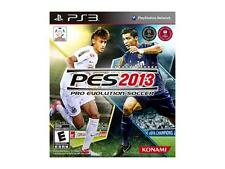 Pro Evolution Soccer PES 2013 PS3 Sony PlayStation 3, 2012 Konami 3D Torn Shrink