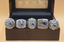 5 Pcs 2001 2003 2004 2014 2019 New England Patriots Championship Ring !!