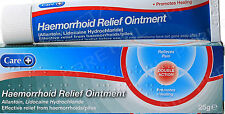 Care Haemorrhoid/Pile Relief Ointment Cream - 25g - Pain Relief/Aids Healing