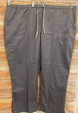 Urbane Ultimate Ladies Scrubs, Gray, Plus 4Xl, Modern Fit, Nwt Sz 4Xl