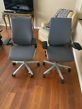 Fully Loaded Grey Steelcase Gesture Office Chair Local Pickup In Az Only
