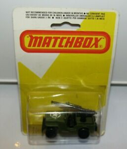 Matchbox Superfast No 38 Armoured Jeep with 21 11 star label Mint Sealed