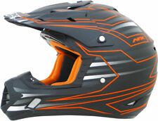 AFX FX17 MAINLINE Motocross/Offroad/ATV Helmet (Black/Safety Orange) X-Large