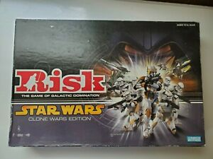 Risk Star Wars Clone Wars Edition