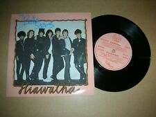 THE BELLE STARS - HIAWATHA...UK.STIFF RECORDS..BUY 117 IN PIC.SLEEVE
