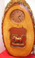 Unicorn Wooden Wall Clock