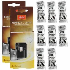 MELITTA Perfect Clean Espresso Filter Coffee Machine Cleaner Tablets x 8