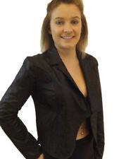 Cappotti e giacche da donna marrone con bottone, taglia 48