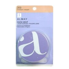 3X Almay Nearly Naked Loose Powder 300 Medium, New in Retail Package