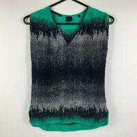 David Lawrence Pure Silk Cami Size 6 Sleeveless Top