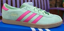 BNIBWT Adidas Stadt UK 9 - EE5726 - Glow Green Pink Sodermalm Tobacco