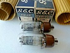 KT66 GEC 2 Halo Getters at Base Matched Pair B Valve Tube New Old Stock FEB20A