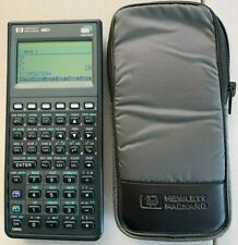 hp 48g+ 128K Ram graphing calculator, used, with case, perfect condition 10/10