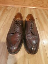 Tricker's 'Richmond' Split-toe Derby Shoes. Made in England. Size UK 8