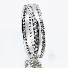1.44 Carat Men's Diamond Band Ring F Vs1 14k White Gold Size 13