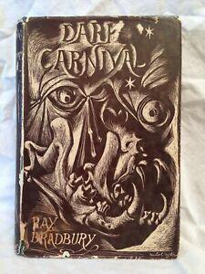Ray Bradbury, Dark Carnival, 1st UK 1948 Hamish Hamilton - Michael Ayrton Jacket