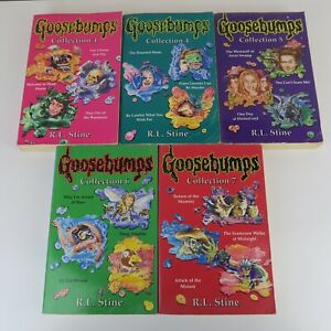 Bundle of 5 Goosebumps Books Collection Specials 15x Stories R L Stein 1,4,5,6,7
