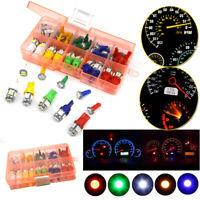70Pcs/set Car T5+T10 LED Instrument Panel Cluster Plug Dash Light Bulb Indicator