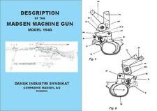 Madsen 1940 Model- Description of the Madsen Machine Gun