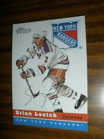 2000-01 Topps Heritage #56 Brian Leetch New York Rangers NrMt
