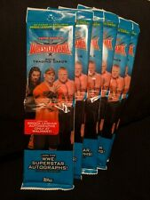 2016 TOPPS WWE ROAD TO WRESTLEMANIA Twin Packs (6 PACK LOT) Brock Lesnar cards