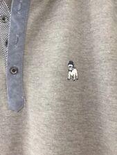 The Spitalfields Shirt Company Men's Grey Polo Shirt Size S