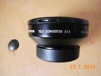 Carena Tele Converter X1.5 für Video Camera