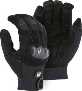 Impact Pads-Knuckle Guard Police-Military Tactical-Construction-Mechanics Gloves