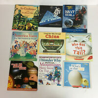 Scholastic Childrens Learning Books Homeschool Lot of 13 FREE SHIPPING!