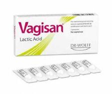 VAGISAN Lactic Acid BV Vaginal Pessaries Restores Vaginal Flora & PH