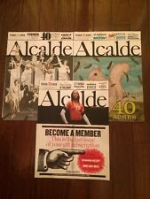 3 NEW Issues ALCALDE Magazine Texas Exes May-Oct 2013