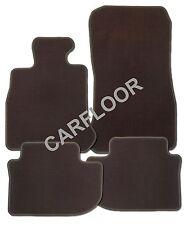 Für Seat Leon 5F ST Kombi ab 2014 Fußmatten Velours Deluxe dunkelbraun